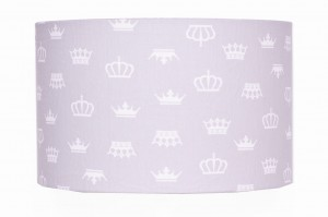 Abażur Crown GREY średnica 40cm