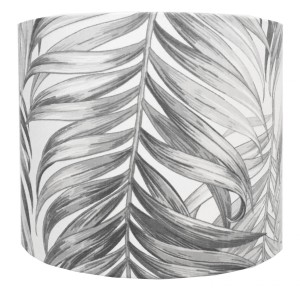 Abażur Palm Leaves - GREY średnica 25cm