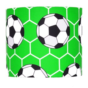 Abażur Football GREEN średnica 25cm
